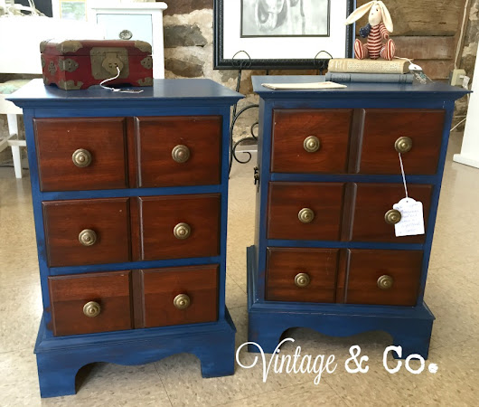 Let's Talk Vintage #94: Nautical Blue and Latest Finds, Too!
