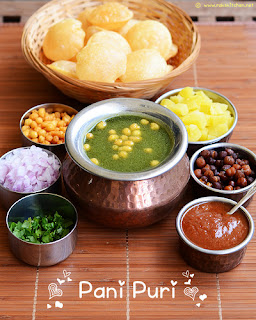 Image of north Indian pani puri