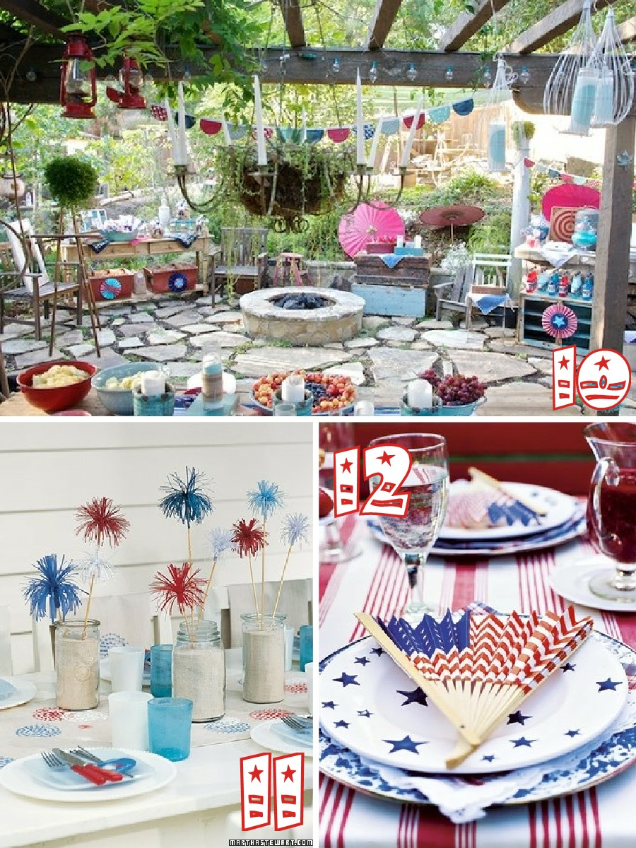 Red White And Blue Party Themes 70