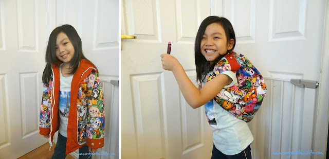 Moshi Monsters jacket, Moshi Monsters bag, children 3-in-1 jacket