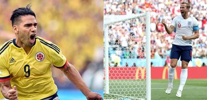 Prediksi Kolombia vs Inggris - Babak 16 Besar Piala Dunia 2018