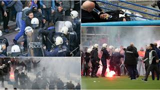 Ένα ποδόσφαιρο (ελληνικό...) μόνο επεισόδια...