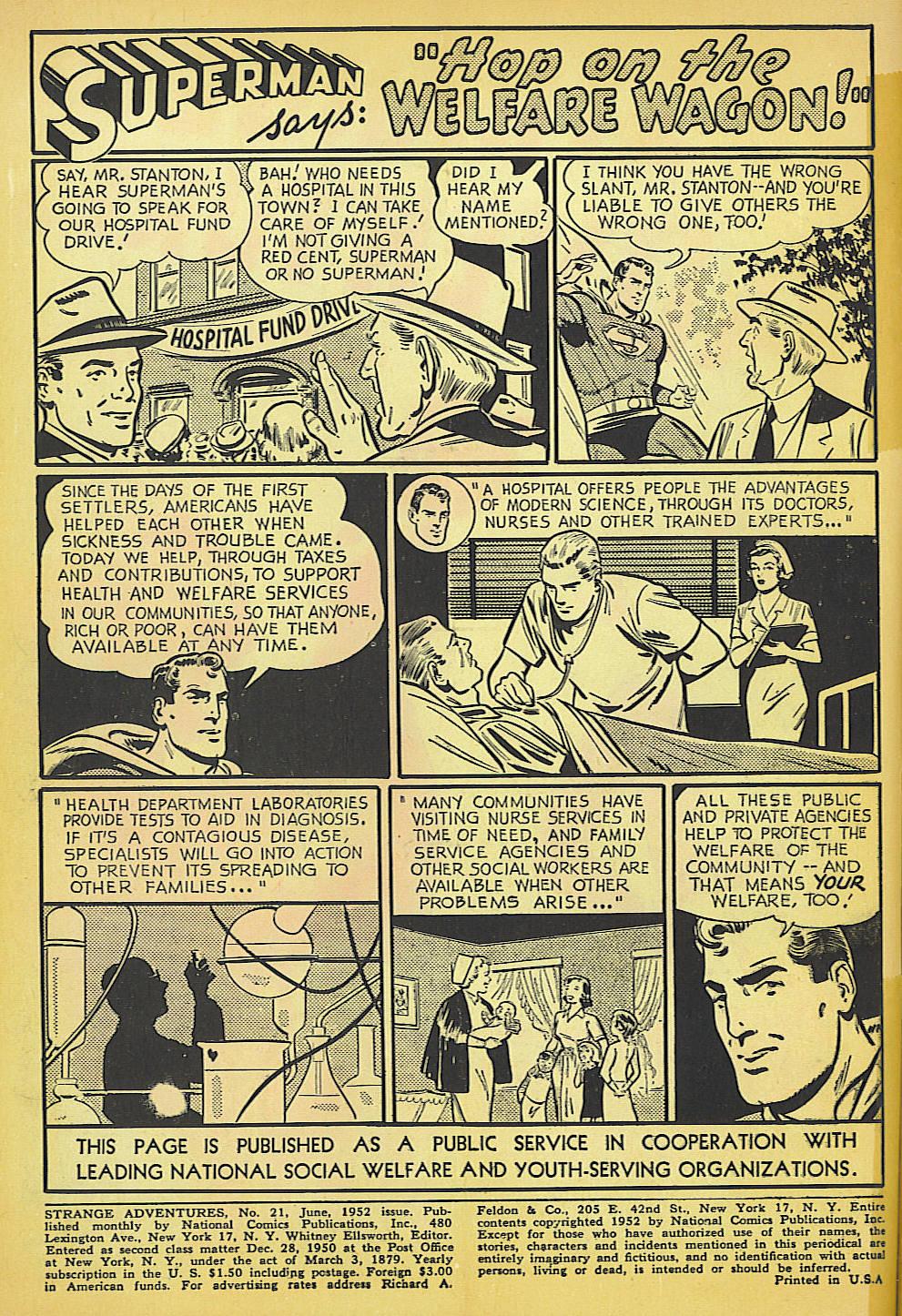 Strange Adventures (1950) issue 21 - Page 2