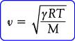 Rumus kecepatan rambat bunyi pada gas ideal