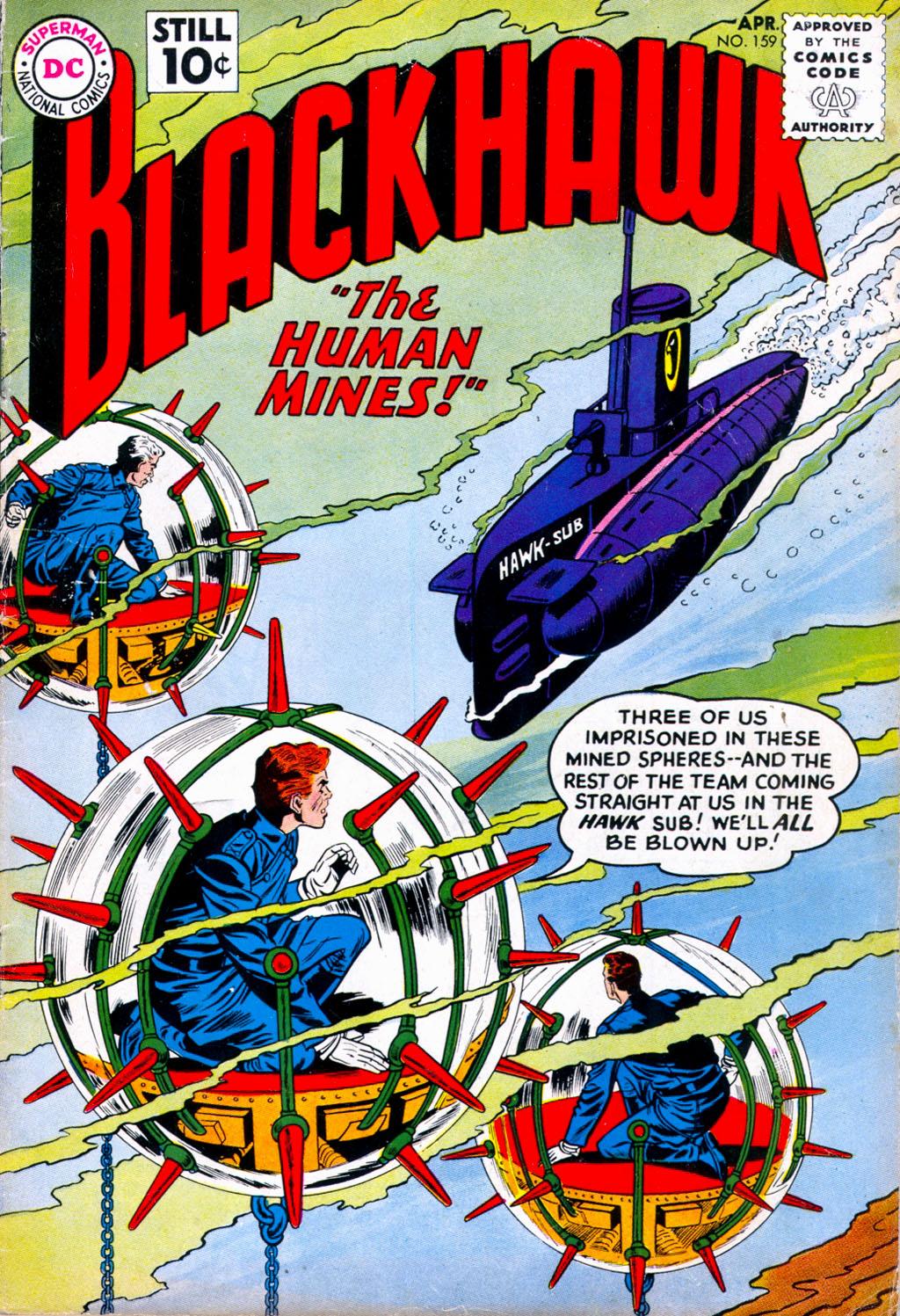 Blackhawk (1957) 159 Page 1
