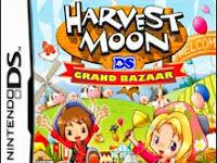 Save Data Harvest Moon Grand Bazaar NDS [Salfy] NDS