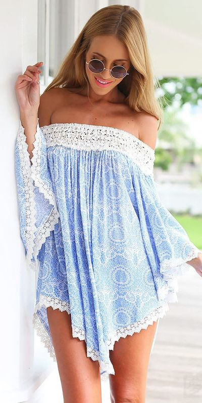 cute boho style outfit