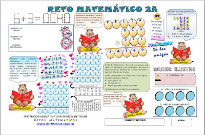 Reto Matematico, Problemas matemáticos, Acertijos, Problemas de ingenio matemático