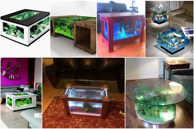 Modern Aquarium Tables Designs