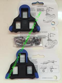 Cleat Shimano SH12 untuk Sepatu Balap Sepatu Road Bike