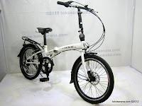 C 20 Inch Gorin Handy Folding 6 Speed Shimano and Disc Brake Folding Bike