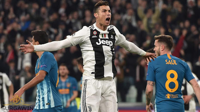 Cristiano Ronaldo - Surgawin
