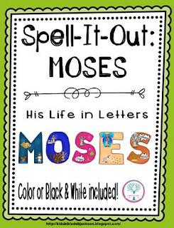http://www.biblefunforkids.com/2015/08/spell-it-out-moses.html