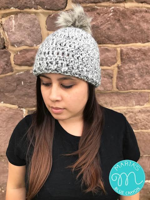 Basic Chunky Beanie Free Crochet Patter Marias Blue Crayon