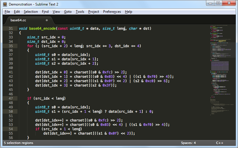 Free Download Sublime Text 3 Editor PHP Yang Powerfull