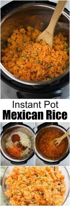 BEST INSTANT POT MEXICAN RICE