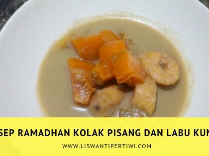 Resep Ramadhan Kolak Pisang dan Labu Kuning