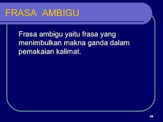 Frasa Ambigu