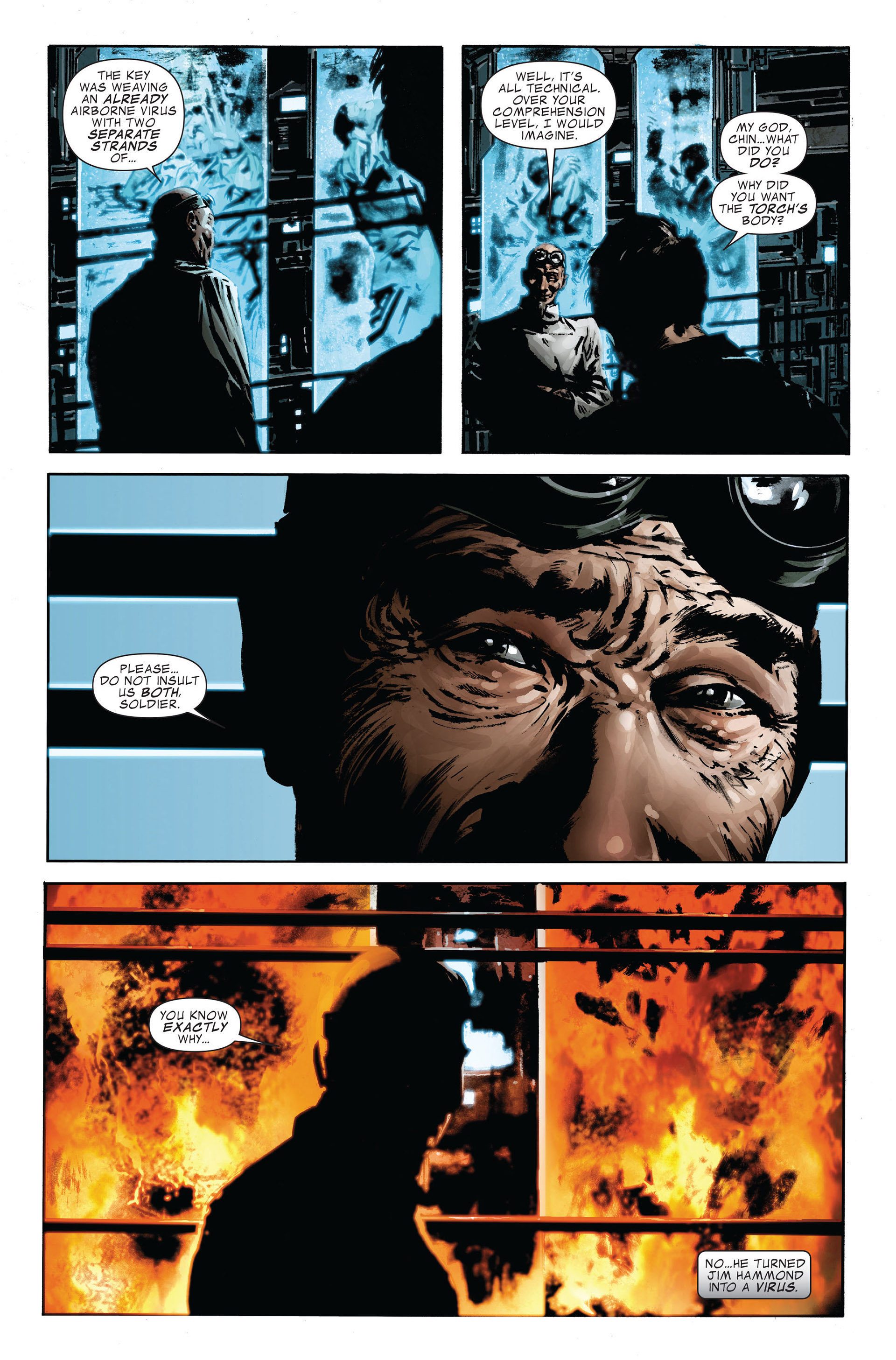 Read online Captain America (2005) comic -  Issue #47 - 21