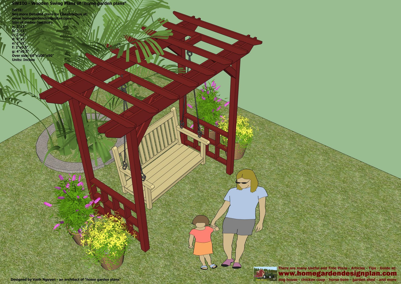 swing chair plan hanging outdoor wooden garden seat plans