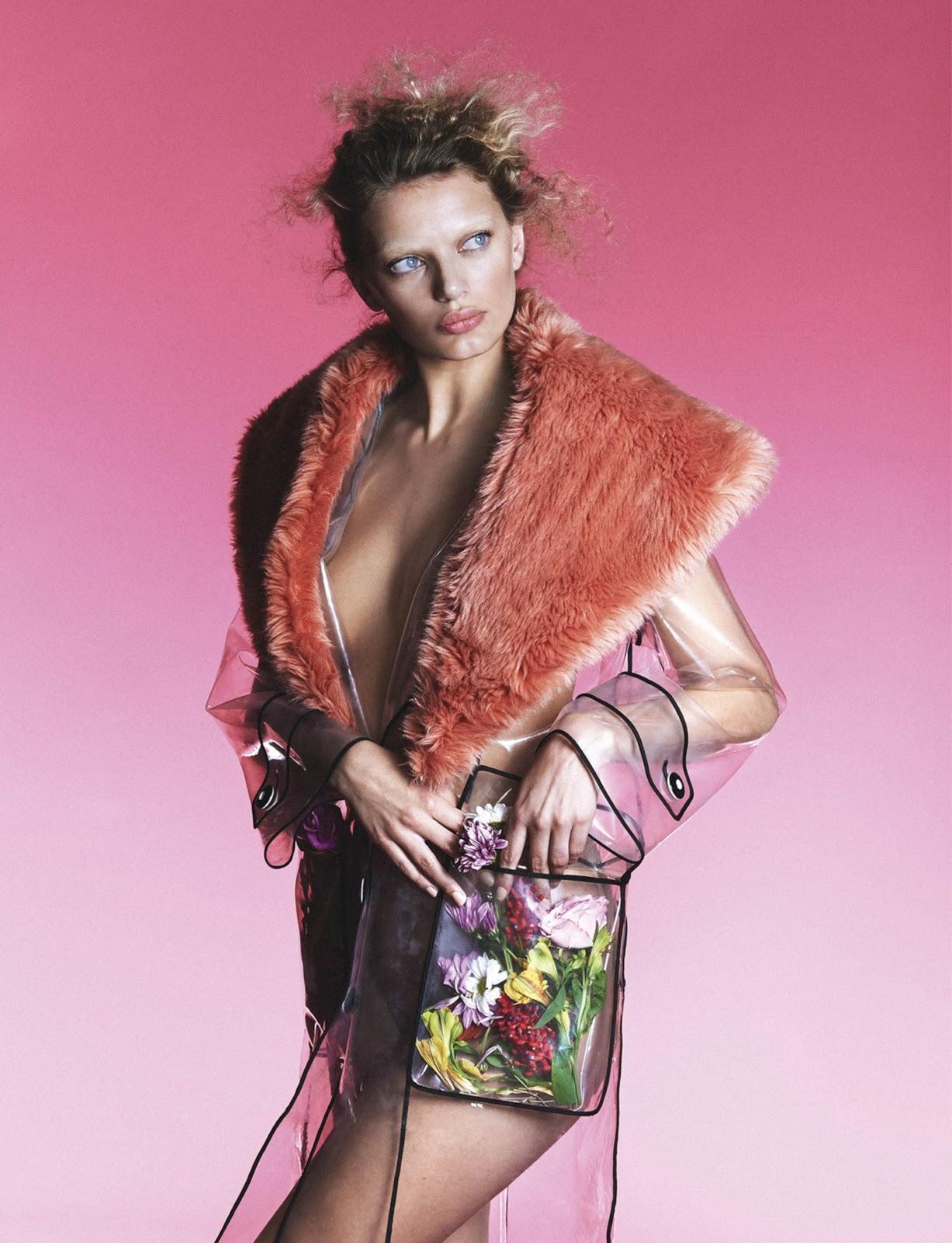 Bregje Heinen - Narcisse Magazine Photo Shoot by Rowan Papier