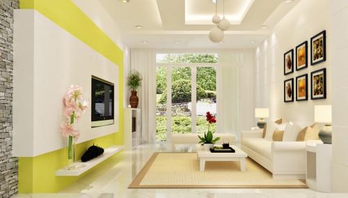 Dùng nội thất có gam màu sáng