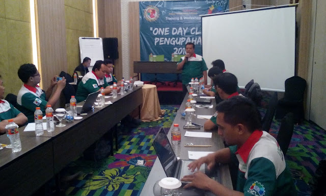 Pembukaan dan sambutan acara one day clinic oleh Bro Aris Kuncoro