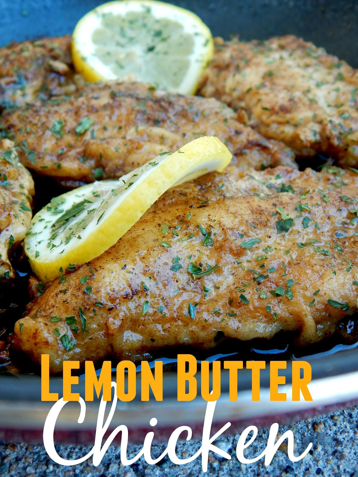 Ally\'s Sweet and Savory Eats: Lemon Butter Chicken