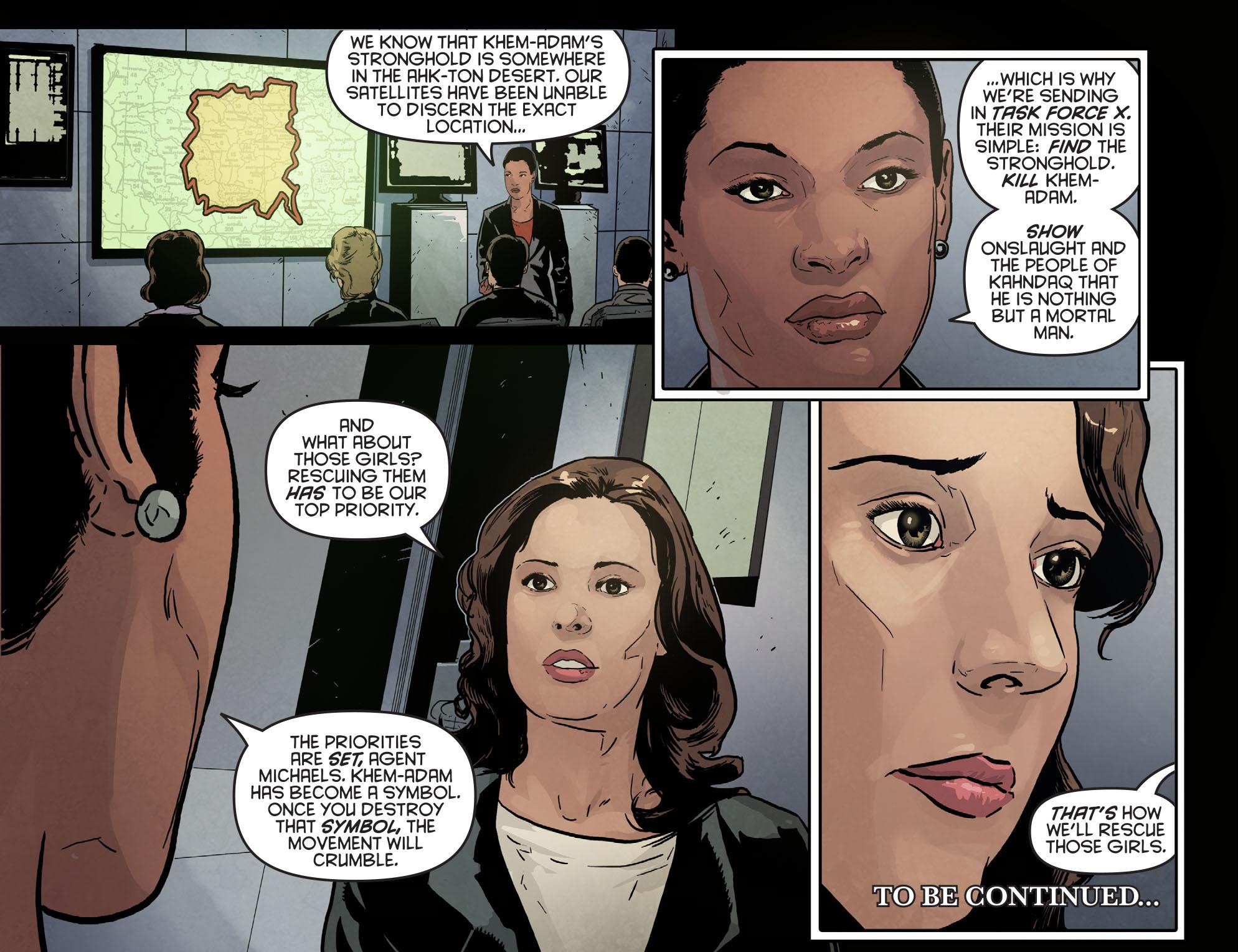 Read online Arrow: Season 2.5 [I] comic -  Issue #6 - 22