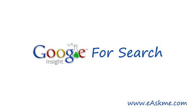 How to Find Popular Keywords Using Google Insight Search in 2019: eAskme