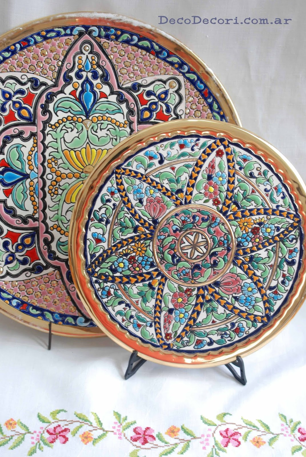 T cnica cuerda seca for Tecnicas para esmaltar ceramica