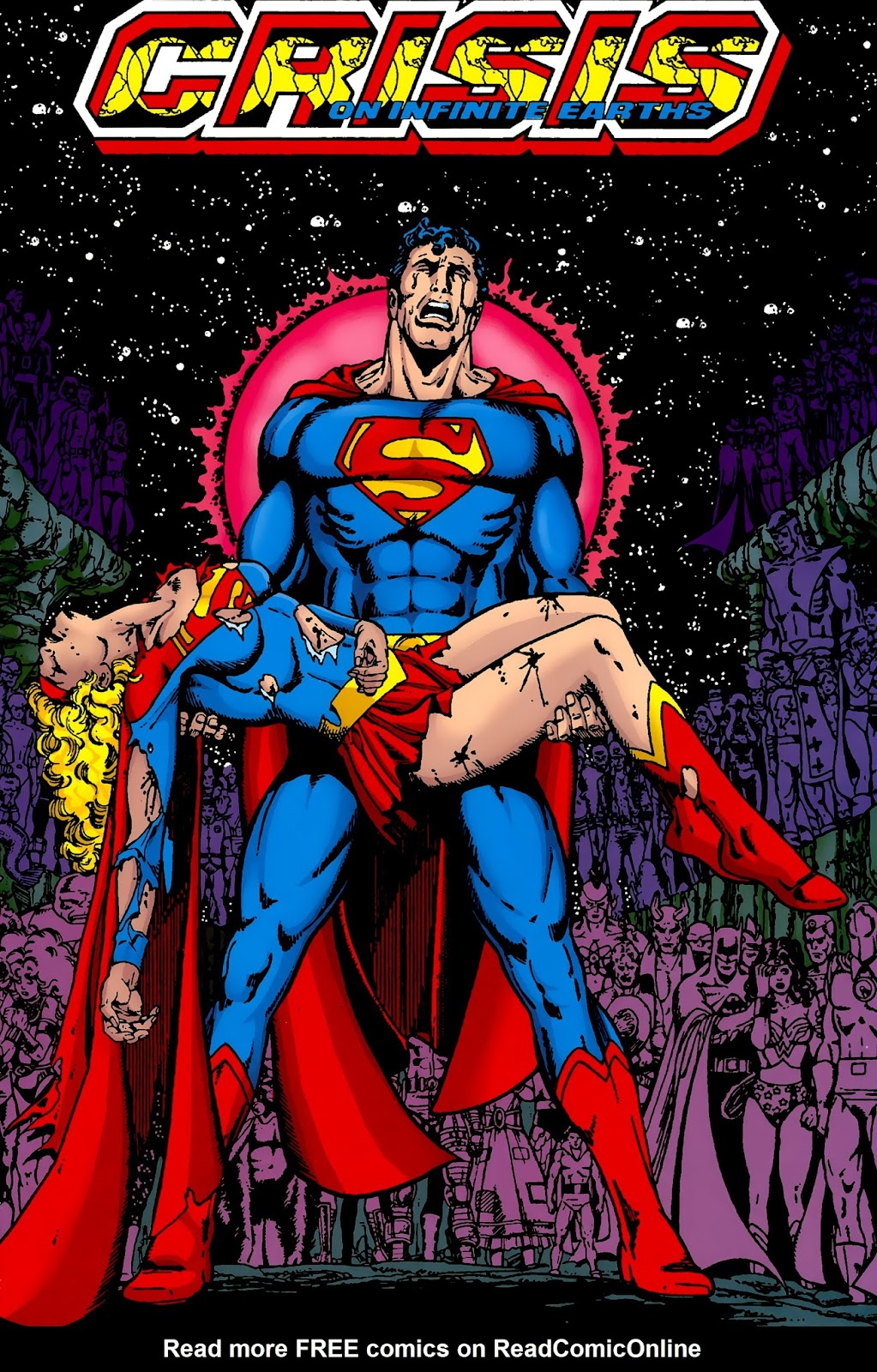 Read online Crisis on Infinite Earths (1985) comic -  Issue # _Absolute Edition 2 - 1
