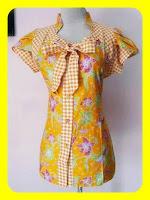 Yang Baru Model Baju Batik Wanita Modern Cantik
