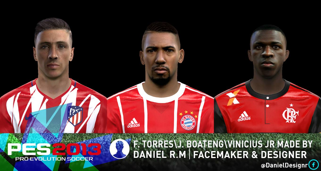 PES 2013 FACEPACK VOL. 9 MADE BY DANIEL R.M