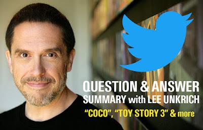 Lee Unkrich - Twitter Q&A