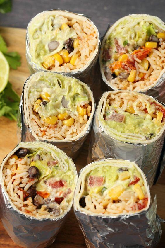 VEGAN BURRITO #vegan #veganrecipes #veggies #burrito #vegetarianrecipes
