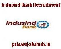 Indusind Bank Recruitment