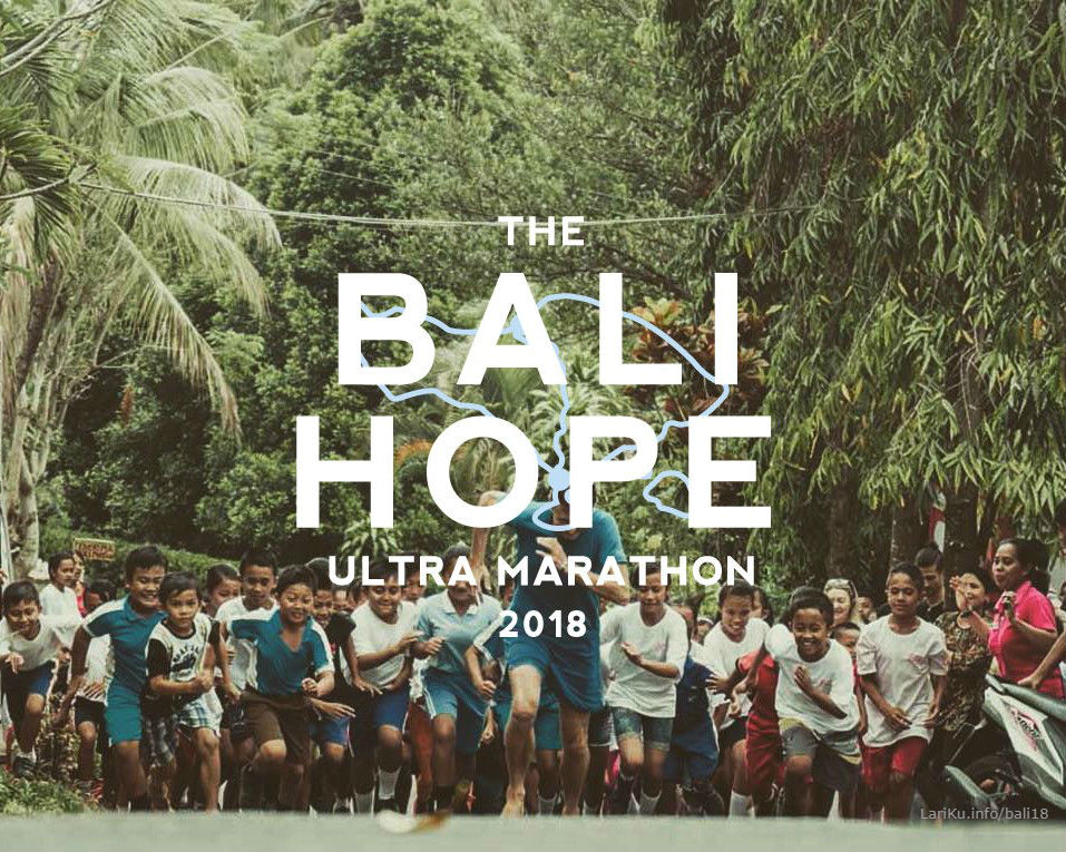 The Bali Hope Ultra Marathon • 2018