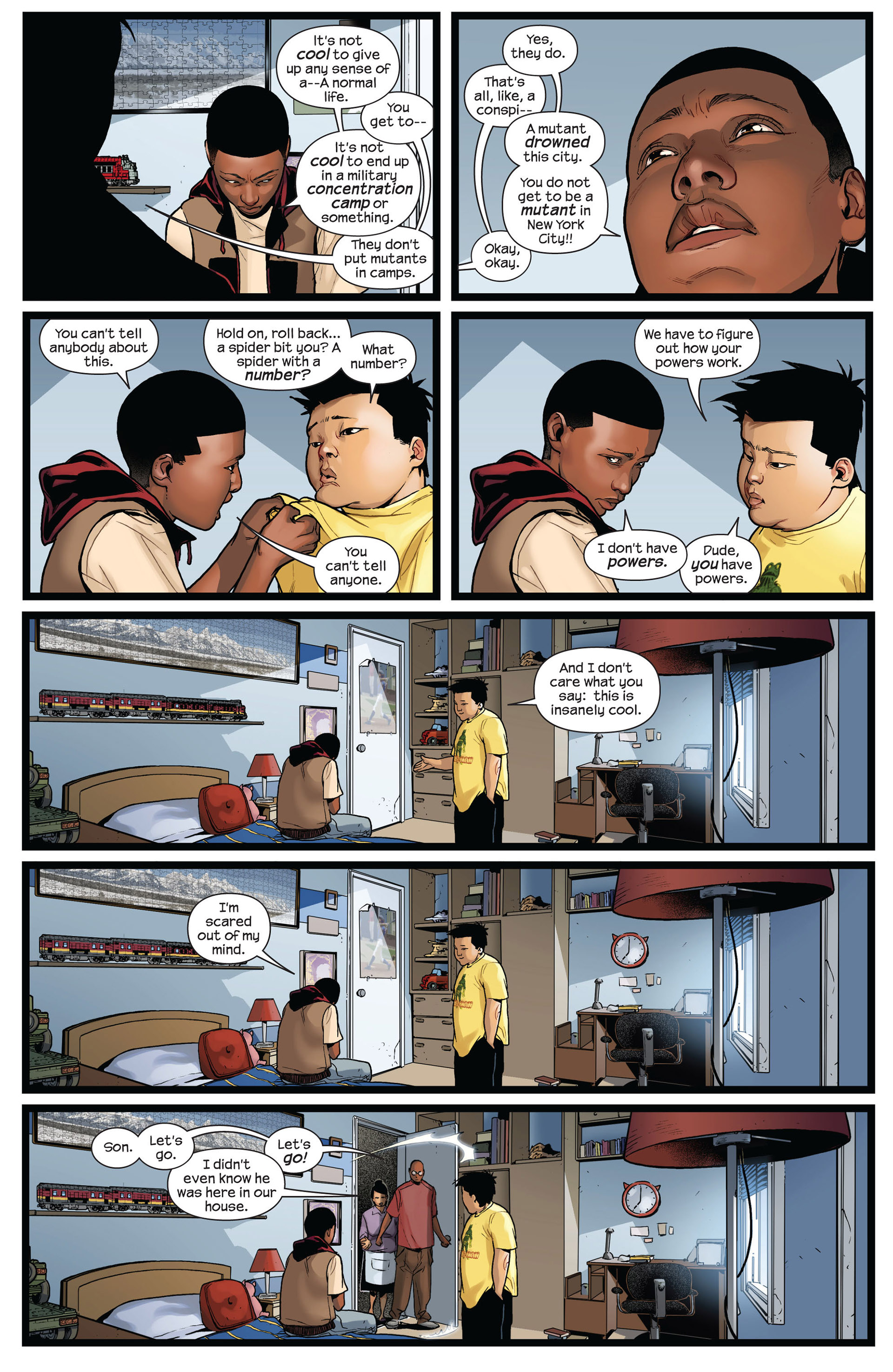 Read online Ultimate Comics Spider-Man (2011) comic -  Issue #2 - 12