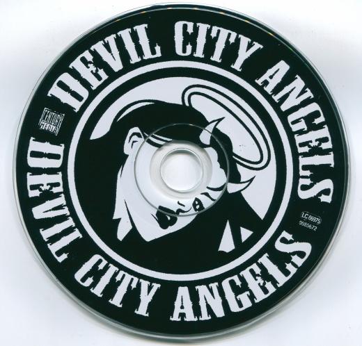 DEVIL CITY ANGELS - Devil City Angels [retail CD] disc