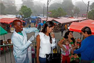 'Dia D' da Campanha Contra Gripe na Feirinha do Alto