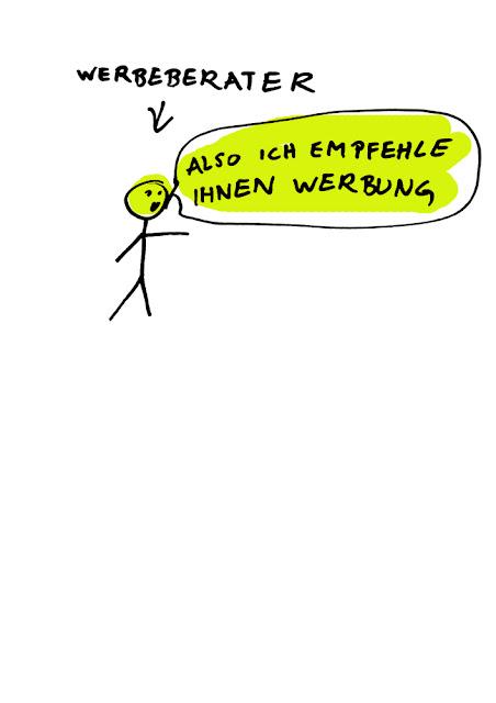Dr. Kristian Stuhl 2012, Werbeberater,  Das Klo spült alles fort, A4