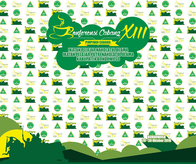 Desain Photo Area - Konferensi Cabang XIII IPNU & IPPNU Kabupaten Bondowoso