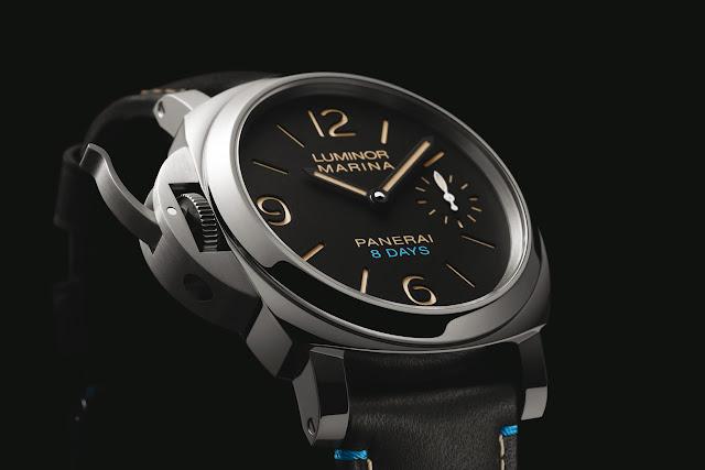 Panerai Luminor Left-Handed 8 Days Acciaio PAM00796