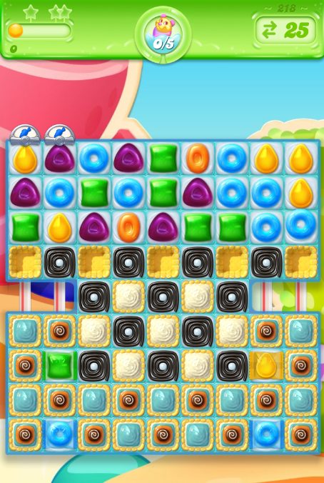 Candy Crush Jelly Saga 218