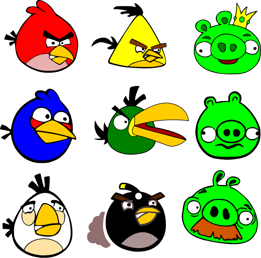 angry birds coloring pages game - photo#36