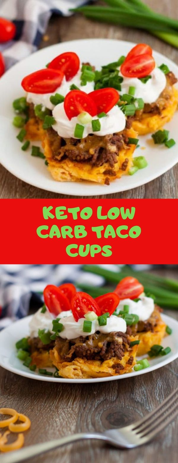 KETO LOW CARB TACO CUPS
