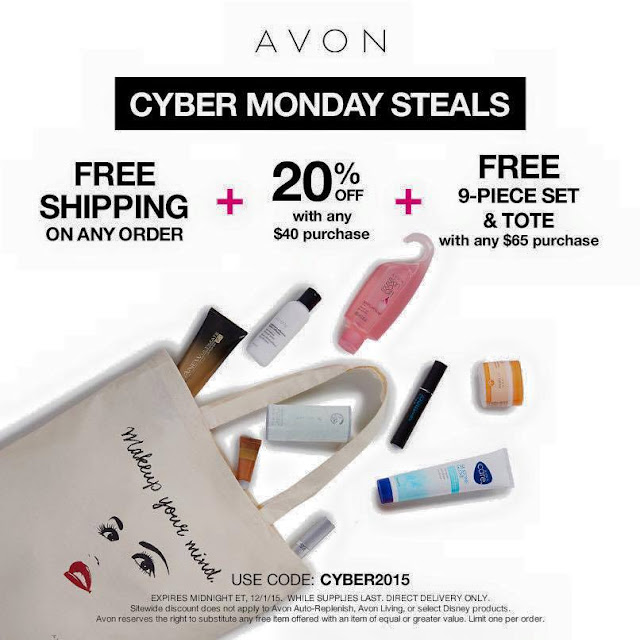 Avon Cyber Monday Steals & Deals 2015