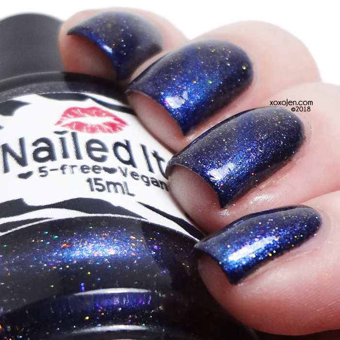 xoxoJen's swatch of Nailed It Dark Fan-Tasy