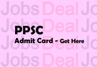 PPSC ADO Admit Card 2017